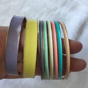 Jewelry - Colorful bracelets set